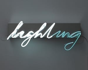 Lighting von Brigitte Kowanz