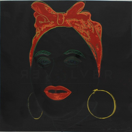 "Andy Warhol, Mammy (FS II.262), from the Portfolio ""Myths"", 1981"