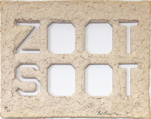 Ed Ruscha, Zoot Suit, 2015