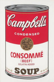 "Consommé (FS II.52) from the Portfolio ""Campbell's Soup"""