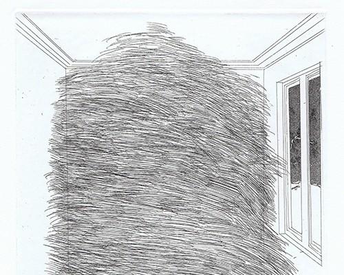 A Room Full of Straw (Rumpelstilzchen) von David Hockney