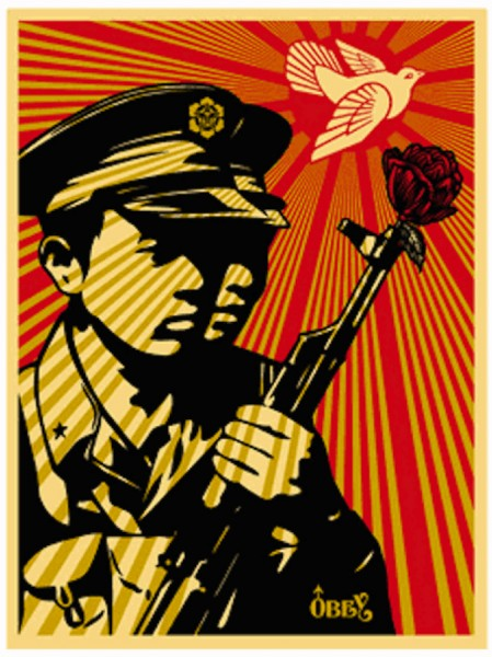 Shepard Fairey, Chinese Soldiers, 2006