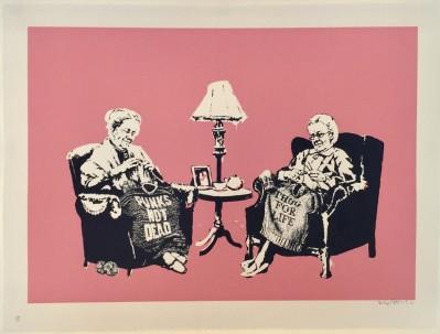 Grannies von Banksy