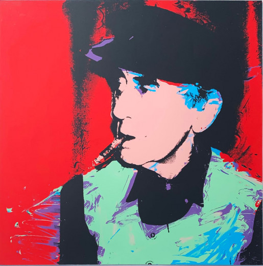 Andy Warhol, Man Ray (FS II.148), 1974