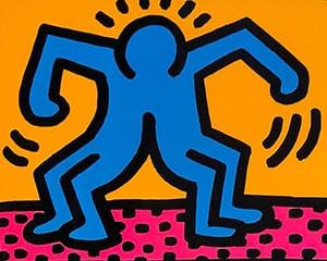 Pop Shop II (A) von Keith Haring