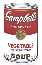 "Vegetable (FS II.48) from the Portfolio ""Campbell's Soup"""