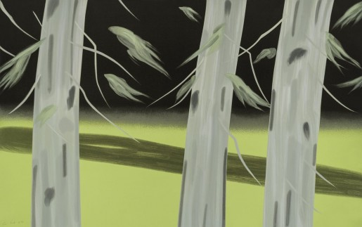 Alex Katz, Three Trees, 2018