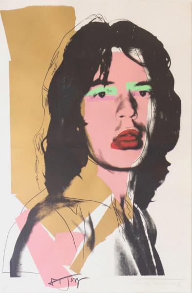 Andy Warhol, Mick Jagger (FS II.143), 1975