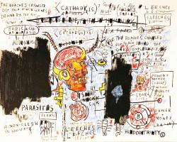 Leeches von Jean-Michel Basquiat