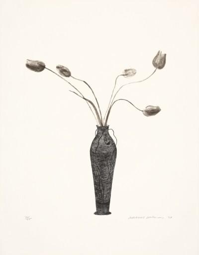 David Hockney - Tulips