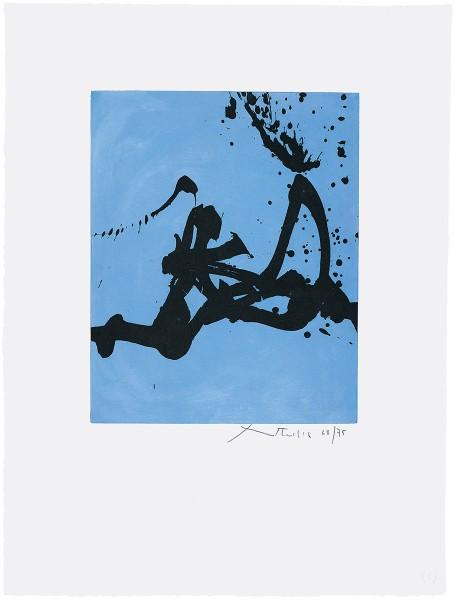 Robert Motherwell, Gesture III, 1977