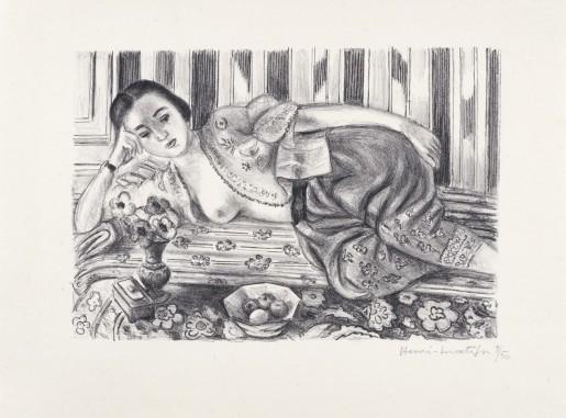 Henri Matisse, Odalisque à la culotte de satin rouge, 1925