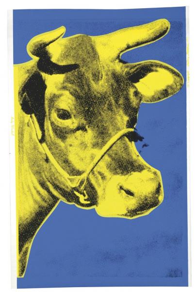 Andy Warhol, Cow (FS II.12), 1971