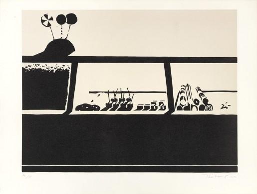 Wayne Thiebaud, Candy Counter, 1970