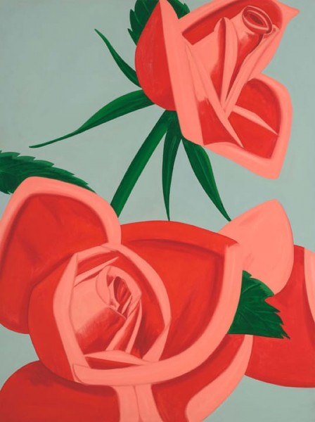 Alex Katz, Rose Bud, 2018
