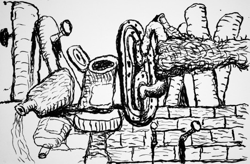 Philip Guston, Remains, 1980