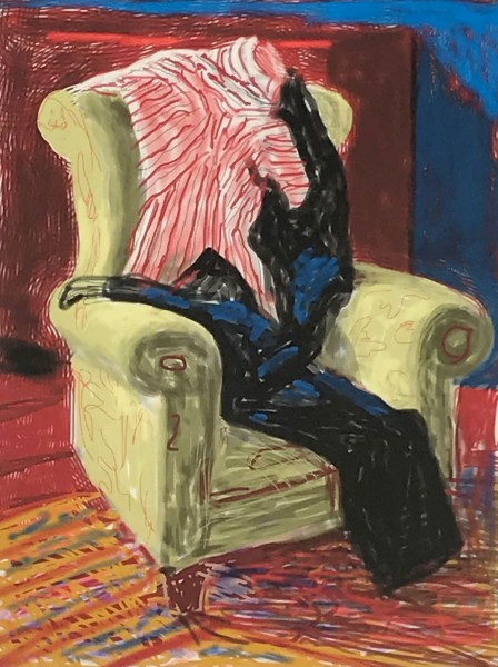 David Hockney, My Shirt and Trousers, 2010