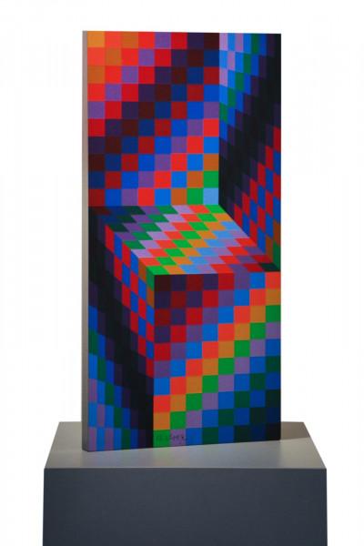 Victor Vasarely, Axo 99, 1988