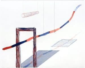 """It Picks Its Way (from """"The Blue Guitar"""" portfolio) von David Hockney"""