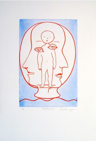 Louise Bourgeois, Self Portrait, 1994