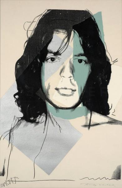 Andy Warhol, Mick Jagger (FS II.138), 1975