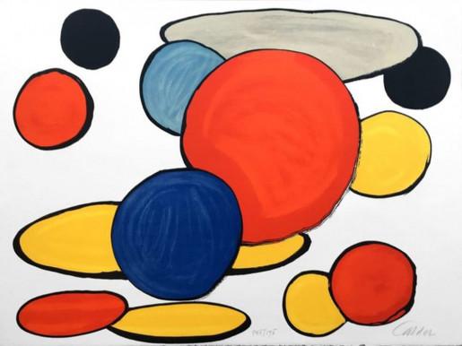 Alexander Calder, Our Unfinished Revolution: Grey Elipse, 1975-1976