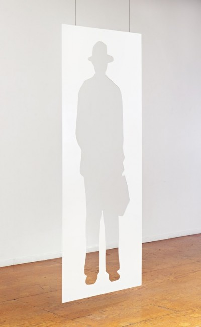 Jonathan Borofsky, Man with a Briefcase, 2012