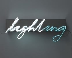 Lighting von Brigitte Kowanz