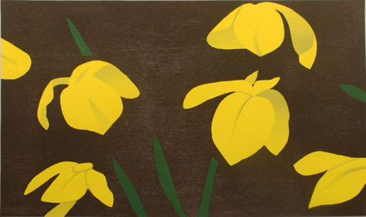 Alex Katz, Yellow Flags, 2013