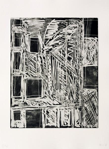 Günther Förg, Fenster - Räume, 1986