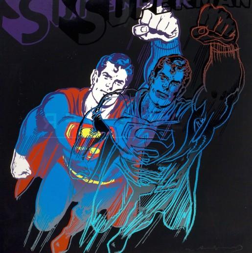 "Andy Warhol, Superman (FS II.260), from the Portfolio ""Myths"", 1981"