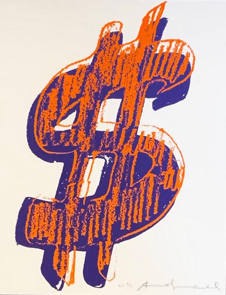 Andy Warhol, $ (1) (FS II. 278), 1982