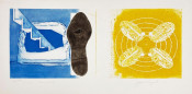Nuclear Neighborhood: Towel, Star, Sunglasses (a pair of works from the Tripartite series)