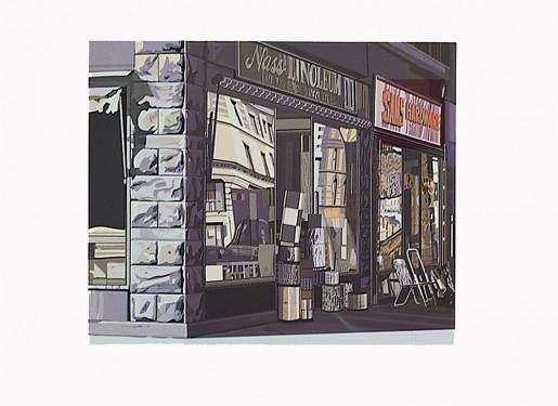 Richard Estes, Nass Linoleum from the Portfolio Urban Landscapes I, 1972