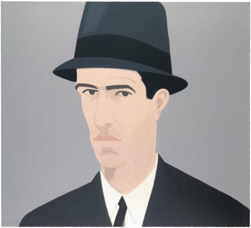 Alex Katz, Alex Katz, Self-Portrait (Passing), 1990