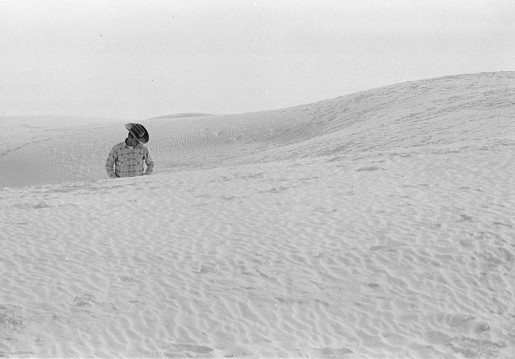 Thomas Hoepker, Cowboy in Dunes, White Sands National Park, USA, 1963