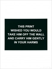 This print wished you...