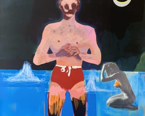 Bather von Peter Doig