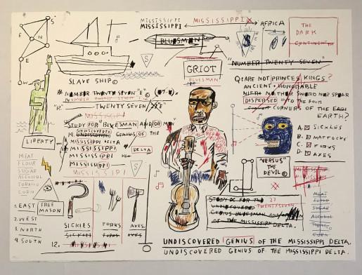 Jean-Michel Basquiat, Undiscovered Genius, 1982