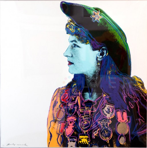 """Andy Warhol, Annie Oakley (FS II.378), from the Portfolio """"Cowboys and Indians"""", 1986"""