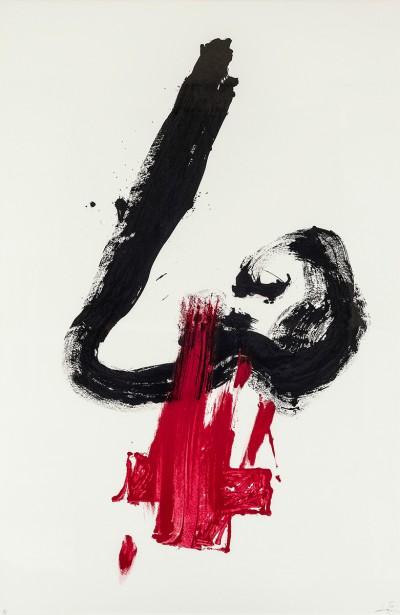 Nez rouge von Antoni Tàpies