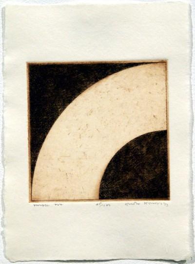 "Small Arc (from ""Eighteen Small Prints"") von Gordon House"