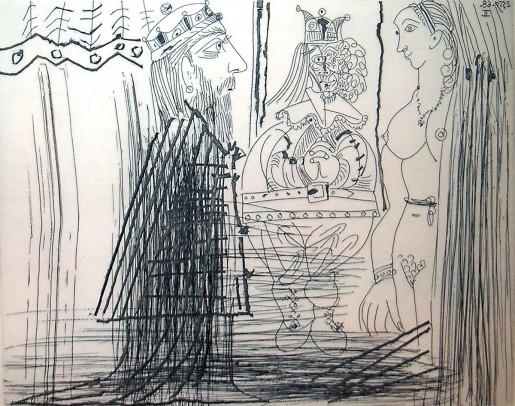 Pablo Picasso, 347 Series: No. 334, 1968