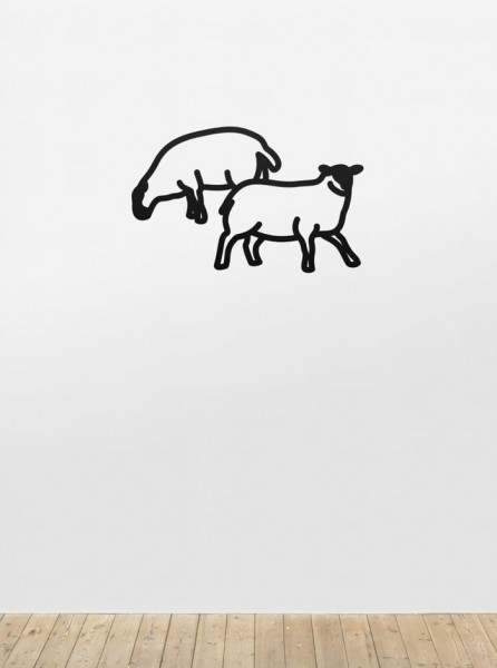 Julian Opie, Sheep 2, from Nature 1 Series, 2015