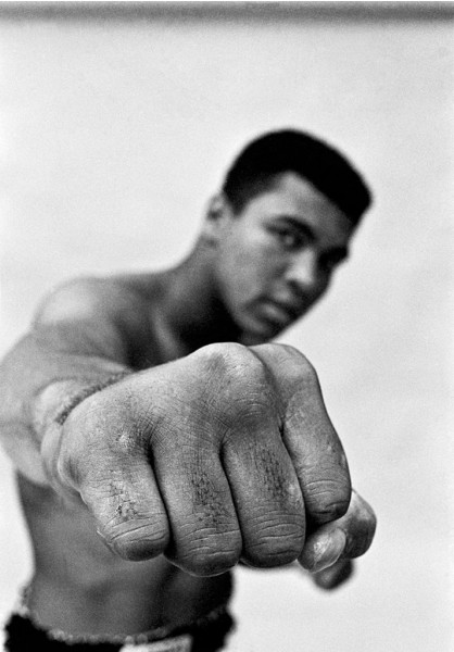 Thomas Hoepker, Ali Right Fist, London, 1966