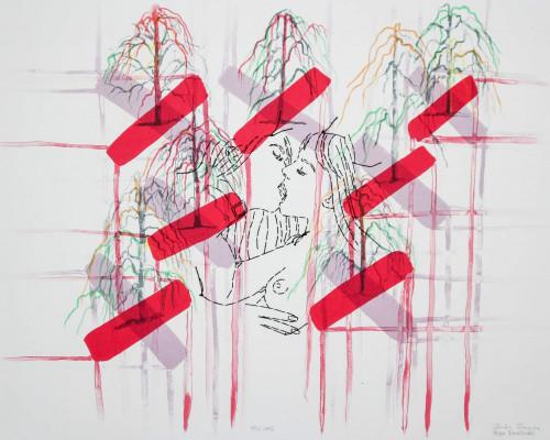 Kiss Cross von Ghada Amer and Reza Farkhondeh