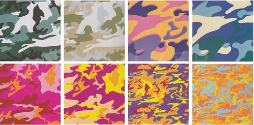Andy Warhol, Camouflage (FS II.406-413), 1987