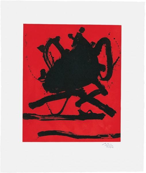 Robert Motherwell, Red Sea II, 1979