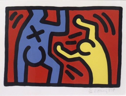 Keith Haring, Untitled D, 1987