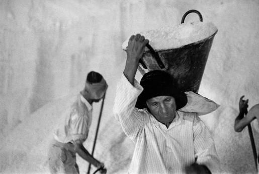 René Burri, Salt Mine, Sicily, Italy, 1956